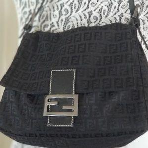 Vintage Fendi Monogram Shoulder Bag
